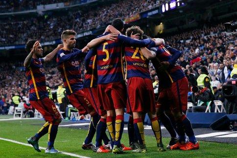 Les joueurs du Barça ont bien ri…