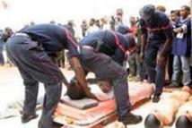Accident - Soumbédioune: plusieurs élèves de la police blessés, leur camion a heurté le mur du tunnel