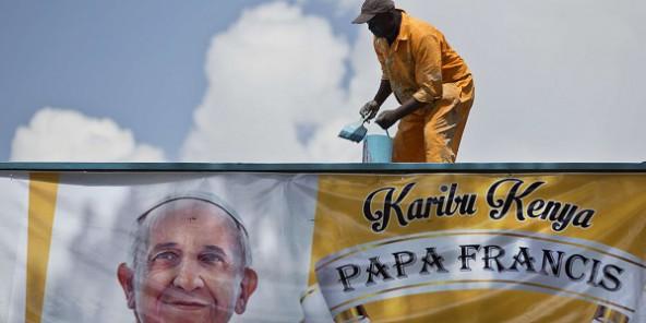 Kenya : le pape François est arrivé à Nairobi