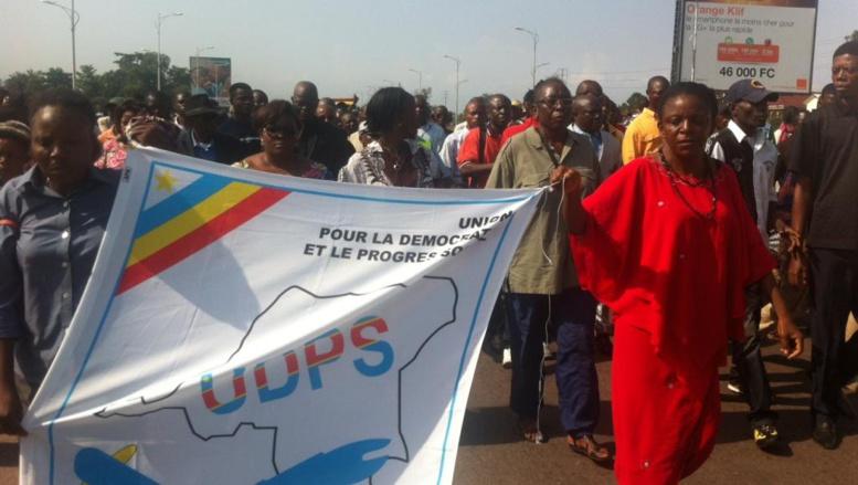 RDC: l'UDPS organise une manifestation à Kinshasa