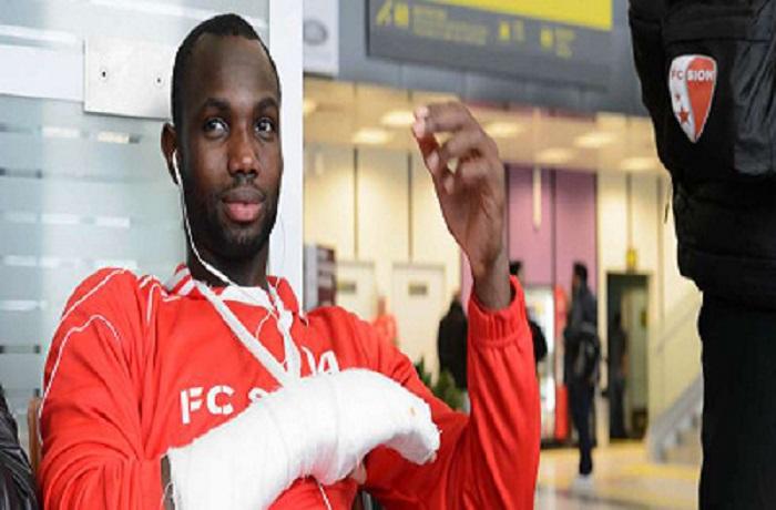 Un mois d'indisponibilité: Moussa Konaté se casse la main