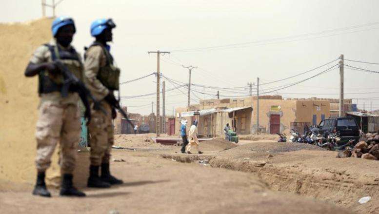 Soldats de la Minusma à Kidal © Reuters