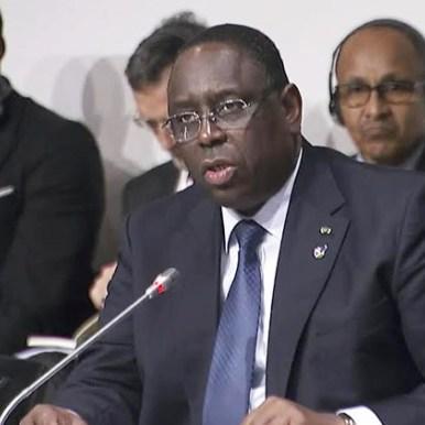 Macky Sall « Africains et Chinois doivent travailler  pour la paix et un ordre mondial plus juste »