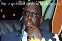 """Pikine - Les jeunes de la COJER au président Sall: """"Cela suffit, trop c'est trop..."""""""