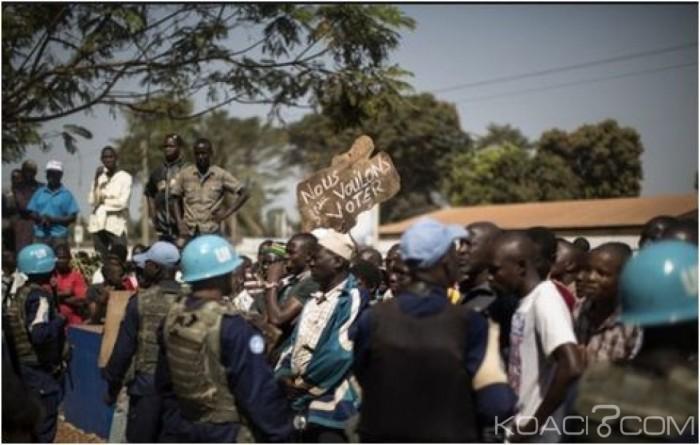 Centrafrique : Référendum marqué des heurts, deux morts et plusieurs blessés graves
