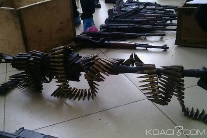Ghana: Nouvelles saisies d'armes et munitions à Kumasi