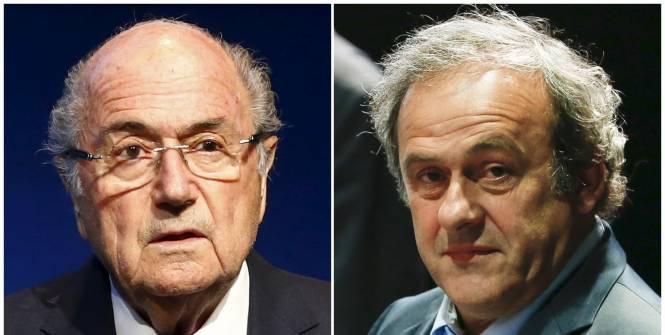 Michel Platini et Sepp Blatter suspendus 8 ans par le comité d'éthique de la FIFA