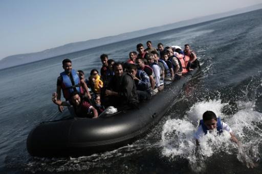 Un million de migrants arrivés en Europe en 2015