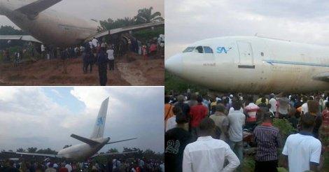 Crash en RDC : Sept morts dans l'atterrissage raté d'un airbus  A320