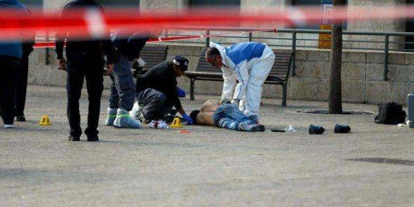 Jérusalem : tentative d'attaque au couteau contre un policier, le Palestinien tué