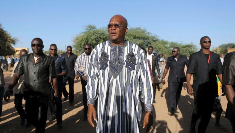 Roch Marc Christian Kaboré prend les rênes du Burkina Faso