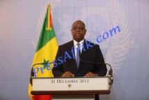 Message de nouvel an du chef de l'Etat - discours intégral: Macky Sall met en exergue les «bonnes performances économiques»
