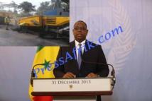 Macky Sall table sur les infrastructures routières pour booster le développement