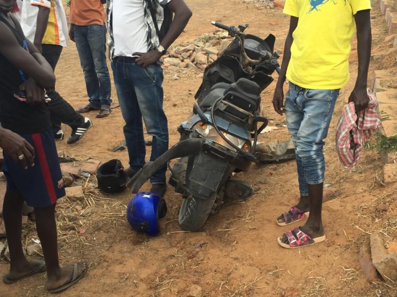 Accident : A peine 30 ans, Tapha Sall heurte un lampadaire avant de tomber dans le vide