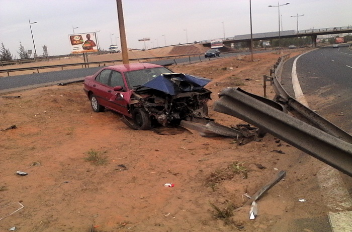 Accident sur l'autoroute : Images