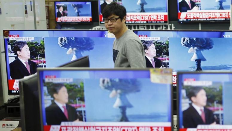 La Corée du Nord annonce un tir d'essai réussi de bombe à hydrogène