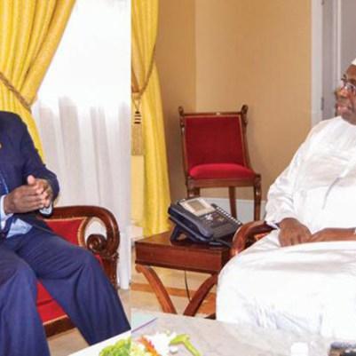 Révision constitutionnelle-le Président de la République se concerte avec Moustapha Niasse