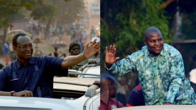 Présidentielle en RCA: deux ex-Premiers ministres au second tour