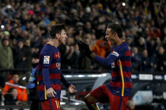 Fc Barcelone 4 - 0 Grenada Fc: le triplé de Messi