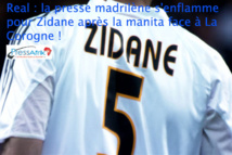 Real : la presse madrilène s'enflamme pour Zidane après la manita face à La Corogne !