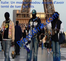 Italie: Un modou-modou accusé d'avoir tenté de tuer son fils