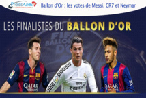 Ballon d'Or : les votes de Messi, CR7 et Neymar