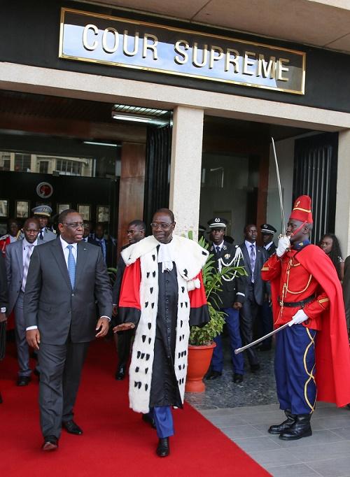 «Le sens et l'objectif de la révision constitutionnelle », selon Macky Sall