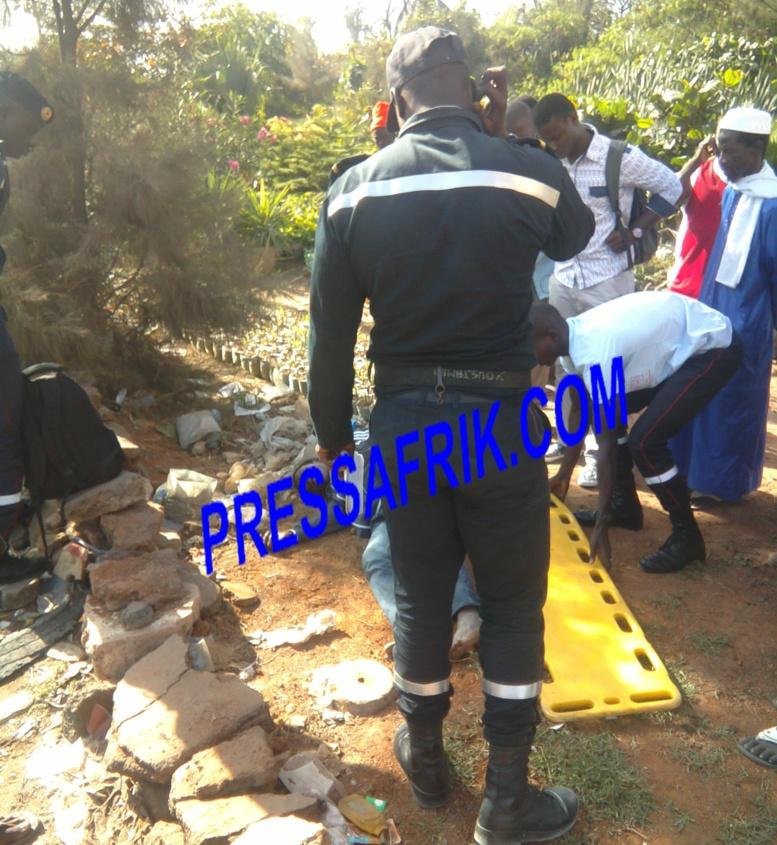 Accident - Croisement Cambérène : Un jeune homme violemment heurté par un scooter