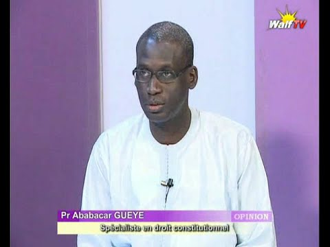Pr Ababacar Guèye-référendum : «Il y a un vide juridique à corriger avant… »