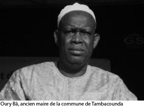 Décès de l'ancien maire de Tambacounda, Oury BA