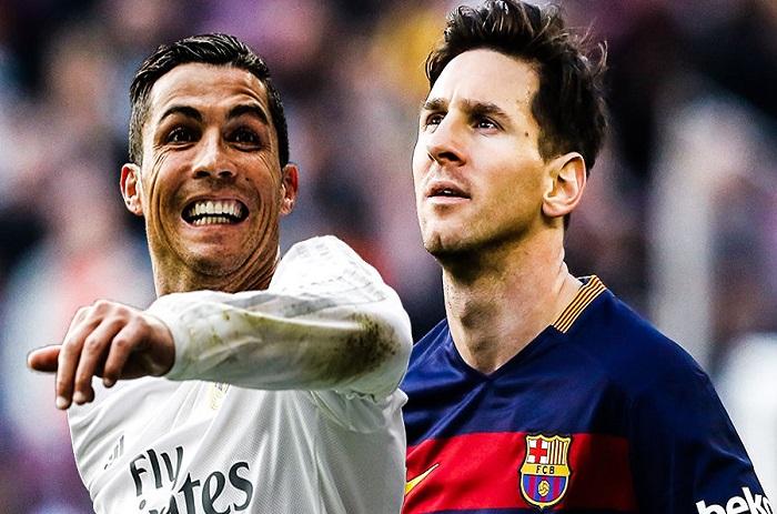 Messi admire Ronaldo. Et vice et versa.
