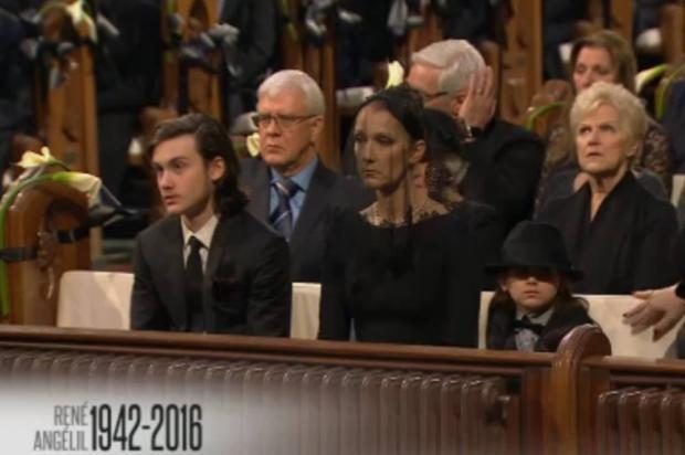 L'émotion de Céline Dion : les funérailles dignes et chantées de René Angélil