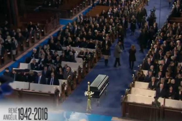 L'émotion de Céline Dion: les funérailles dignes et chantées de René Angélil