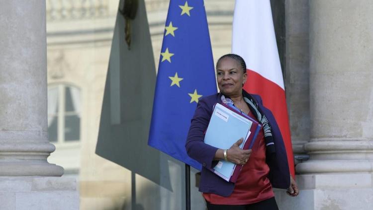 France: démission de la garde des Sceaux Christiane Taubira