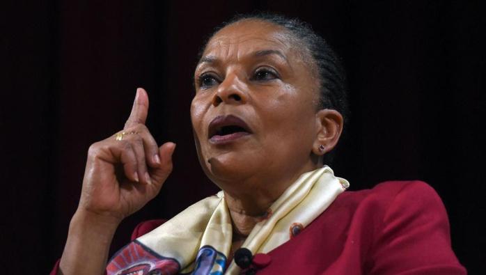 France-Christiane Taubira critique la déchéance de nationalité dans un livre surprise