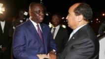 Macky Sall en visite en Mauritanie