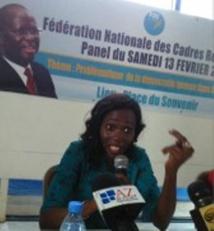 Lucienne Ndione: «nous allons poursuivre le combat jusqu'au bout, à nos risques et périls »