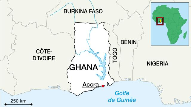 Ghana: plus de 50 morts dans un accident entre un bus et un camion