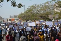 Education : Les enseignants du Sénégal marchent pour la restauration de la dignité et le respect des accords signés