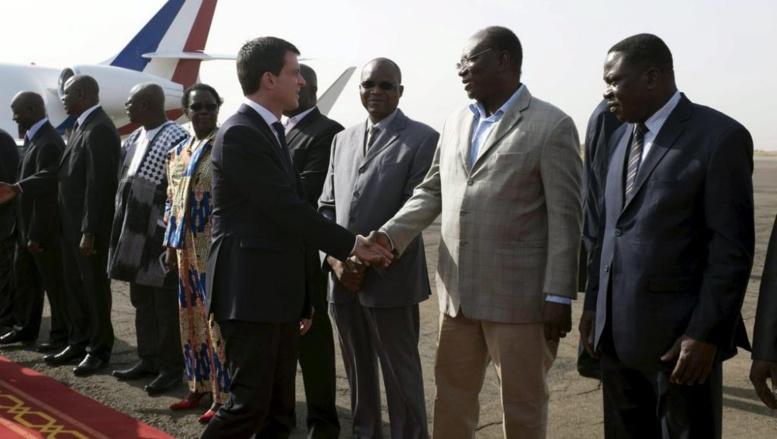 Ouagadougou: Manuel Valls veut éviter les infiltrations jihadistes