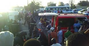Autoroute de la Patte d'Oie : Un accident entre 4 véhicules fait 14 blessés dont 1 grave