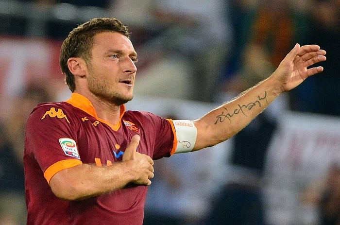 AS Roma : Francesco Totti écarté !