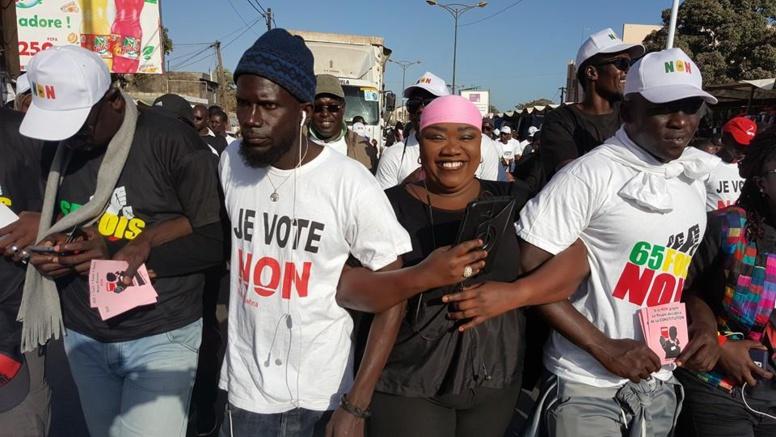 Images-Référendum du 20 mars : Caravane du Front Ñaani Bañna