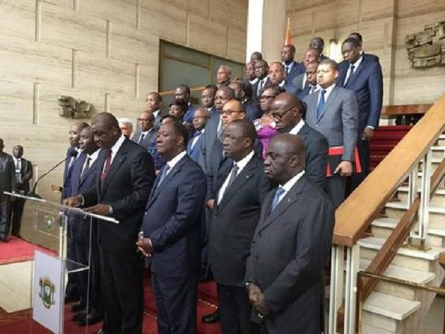La Côte d'Ivoire observera un deuil national de trois (3) jours, (gouvernement)