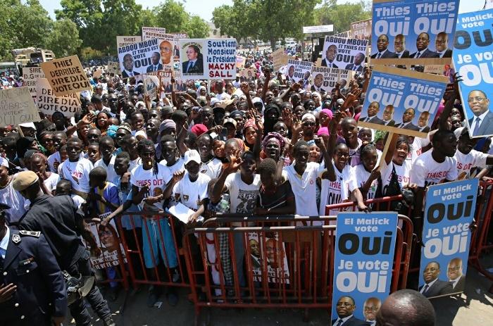 Macky Sall : «Le referendum dépasse le cadre partisan des partis politiques».