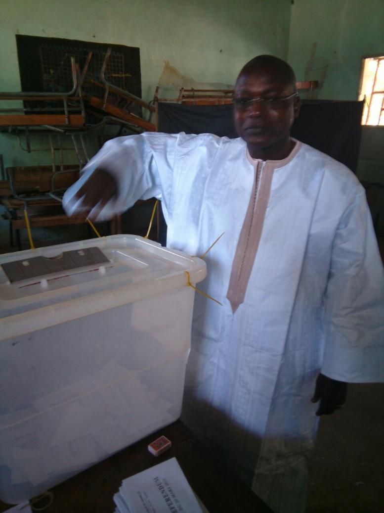 """Référendum Sangalkam - """"Ce soir le Sénégal va vivre des moments très importants"""", Oumar Gueye"""