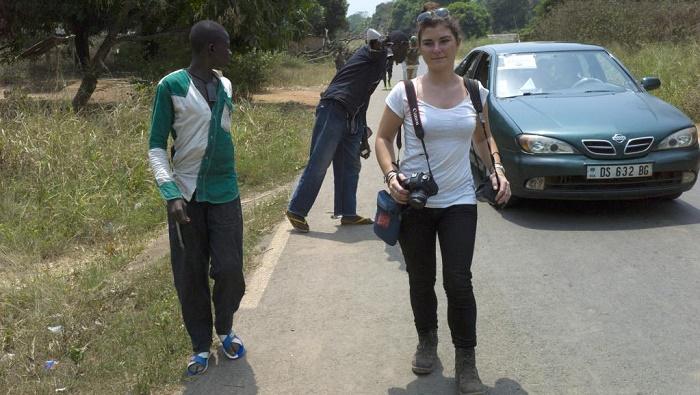 Centrafrique: des photographies en hommage à Camille Lepage à Bangui