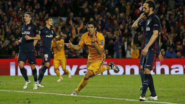 C1 1/4 aller: Bousculé par l'Atletico, le Barça aura finalement le dernier mot