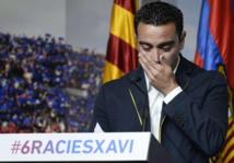 """Xavi : """"Mon plus grand objectif est d'entraîner le Barça"""""""