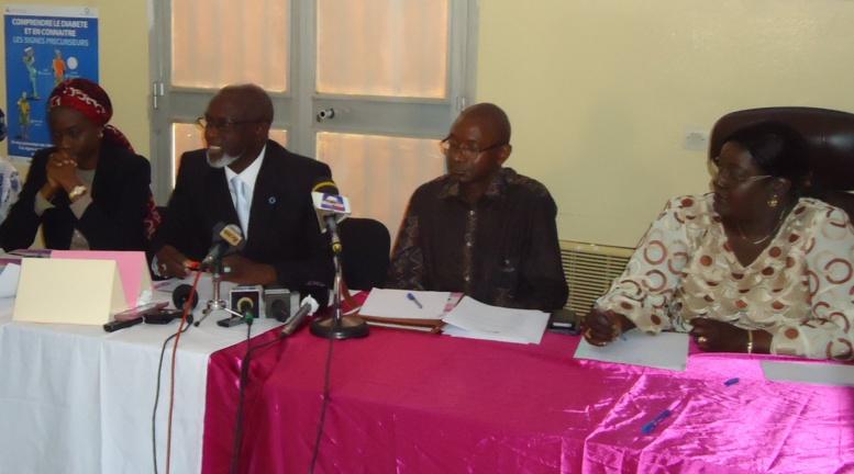 Diabète : 2500 cas enregistrés chaque année au Centre Marc Sankale
